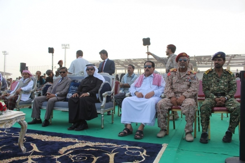 المحافظ البحسني يشهد انطلاق أولى فعاليات مهرجان البلدة بساحة العروض وتدشين كرنفال حضرموت للترفيه والتسويق