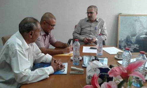موانئ عدن تستوعب 20 طالباً من إميدست للتدريب ضمن مشروع نهضة شباب
