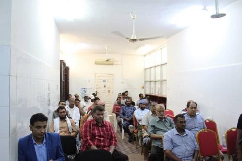 تدشين المخيم الثاني لأمراض الجهاز الهضمي والكبد والبنكرباس بمستشفى الشحر العام