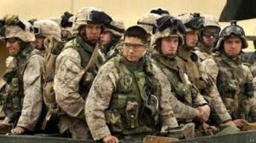 استقبال قوات أمريكية جديدة بالمملكة رسالة شديدة اللهجة لإيران ولسنا دعاة حرب