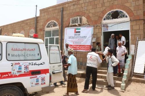 الإمارات ترفد مستشفى حيس في الساحل الغربي بكميات كبيرة من الأدوية والمستلزمات الطبية