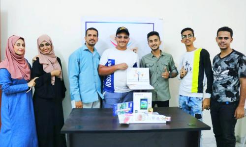 المنتدى الشبابي المستقل يختتم مسابقة #أفضل_رسمة  و يكرم الحائزة على المركز الأول