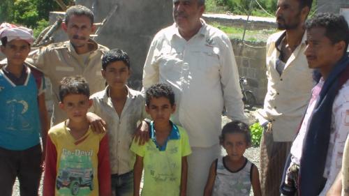 مشروع مسام والبرنامج الوطني  لنزع الألغام يحتفل بأفراح العيد بجبهات الضالع