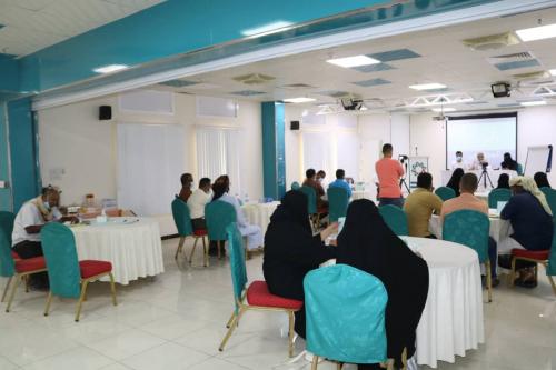 تدشين دورة بناء قدرات ممثلي المجتمع في إدارة الحوار