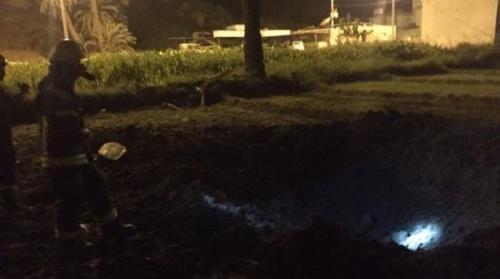 إصابة 7 أشخاص بشظايا صاروخ حوثي أطلق باتجاه نجران