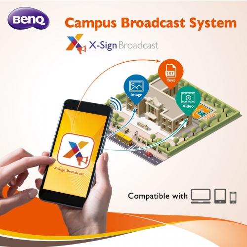 """أعلنت بينكيو نظام البث المدرسي للجيل التالي: """"بث إكس-ساين"""" - إضافة مُلهمة لسلسة اللوحات المسطحة التفاعلية التعليمية لبينكيو  دبي،"""