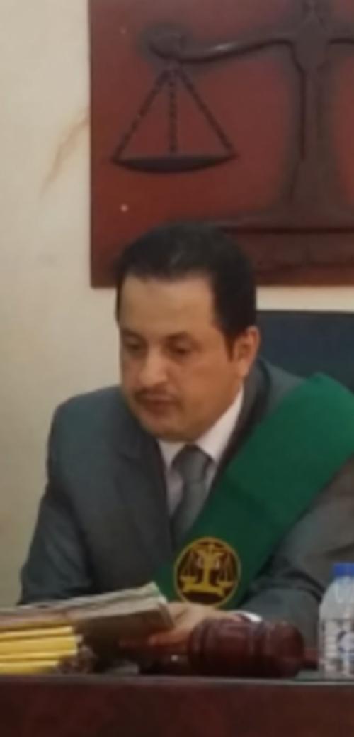 رئيس المحكمة الجزائية المتخصصة بعدن يعزي بوفاةالقاضي نجيب شميري