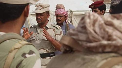 قيادة لواء النخبة الحضرمي بالمنطقة العسكرية الثانية تقوم بزيارة تفقدية لعدد من النقاط في ايام عيد الأضحى المبارك