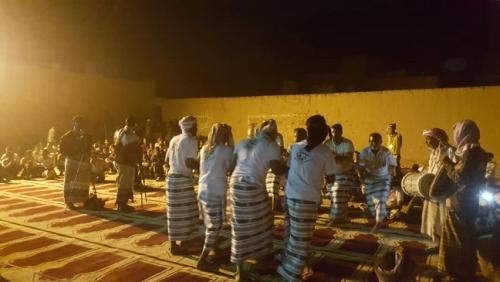 المركز التراثي والثقافي ب(البويرقات/وادي العين _ حضرموت) يحتضن أمسية عيدية