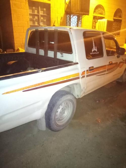 ضبط سيارة مسروقة بنقطة أمن مديرية العبر بعد سرقتها من تريم   م