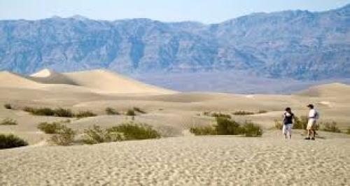 """وادي الموت """"يشتعل"""".. تسجيل أعلى درجة حرارة بالأرض في 100 عام"""