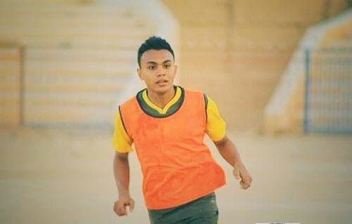 لاعب نادي سيئون محمد فوزي باحميد ينظم الى منتخب الشباب الوطني