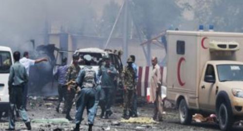 سماع دوي انفجار قرب مقر السفارة الأمريكية في كابل