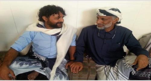 لقاء يجمع رئيس الانتقالي #بشبوة وقائد المقاومة بالعاصمة عدن