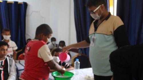 جمعية الخدمات الاجتماعية تختتم دورة تدريبية للاطفال،  بعنوان: أهلًا مدرستي)؛ بالعاصمة عدن*