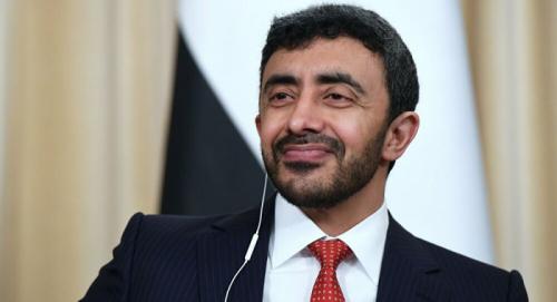 عاجل. الشيخ عبد الله بن زايد وزير خارجية الإمارات: نؤمن بحل سلمي في اليمن