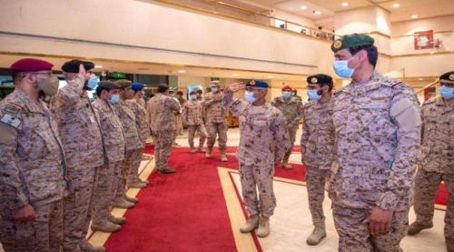 عاجل/تفاصيل لقاء عسكري سعودي إماراتي لبحث العمليات الحربية باليمن