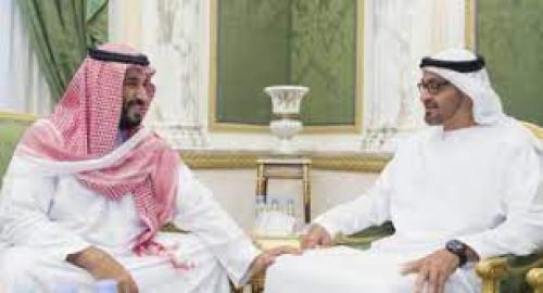 ولي العهد السعودي يبحث مستجدات الأوضاع الدولية والإقليمية مع ولي عهد أبو ظبي