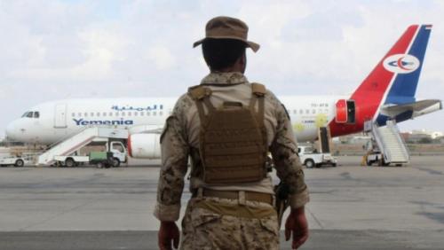 الحزام الأمني يكشف رسميا حقيقة اعتقال طلاب من مطار عدن