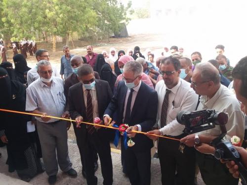 معاوية وألدرويش يحضران أفتتاح أربعة فصول دراسية اضافية بمدرسة ألممدارة للبنات بدعم من منظمة اليونسيف