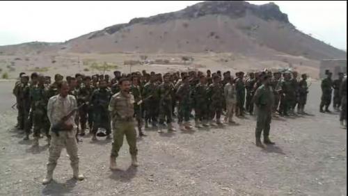 قوات الحزام الأمني في بلاد الحواشب تفرض هيبة النظام والقانون وتعيد الإعتبار لسلطة الدولة