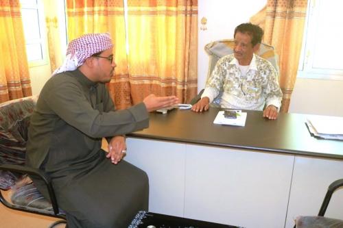 لقاء بمكتب وزارة الصحة بالوادي والصحراء يناقش  الاوضاع الصحية بمديرية ثمود