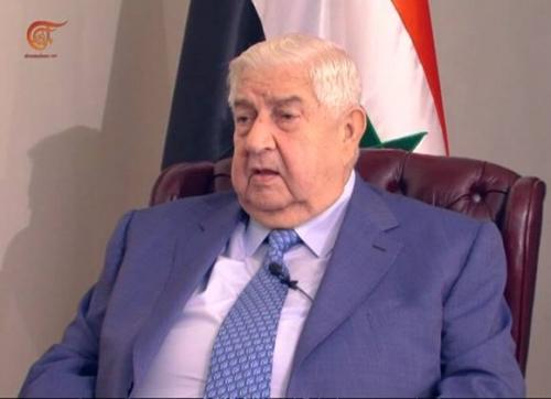 """المعلم: سوريا ستكتب الفصل الأخير في محاربة """"الدولة الإسلامية"""".."""