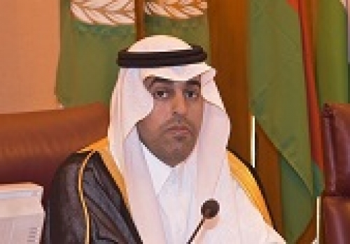 السلمي يؤكد تمسك البرلمان العربي بالحل السلمي للأزمات في عدد من الدول العربية