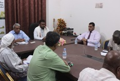 """الشيخ """"بن حبريش"""" يترأس بالمكلا اجتماع مشترك للمكونات والقوى السياسية ومنظمات المجتمع المدني"""