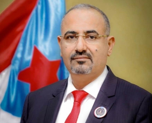 الرئيس القائد عيدروس الزُبيدي يبارك انتصارات القوات المسلحة الجنوبية في جبهات شمال الضالع