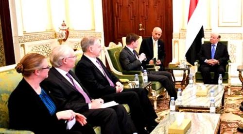 أمريكا /تضغط على #الـرئيس_هادي لتوقيع اتفاق جدة
