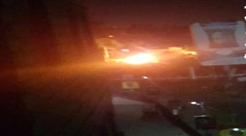 عاجل /انفجار عبوة ناسفة تستهدف قيادي بالحزام في الشيخ عثمان