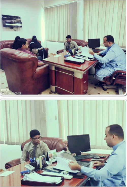 مناقشة سبل التعاون المشترك بين الشركة العربية اليمنية للأسمنت المحدودة ونقابة المهندسين اليمنيين فرع حضرموت