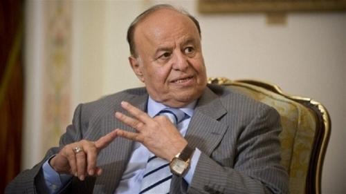 الرئيس هادي: السلام في اليمن يُقتل على يد مليشيا الحوثي وداعميها في إيران