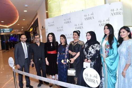 بحضور نجوم الفن والاعلام افتتاح مجوهرات أميرة في أبو ظبي