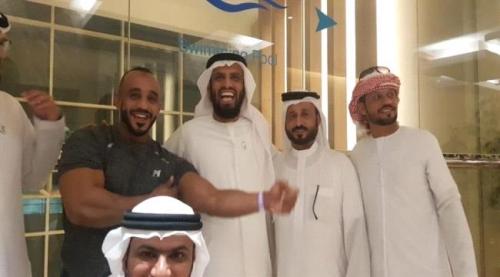 بن بريك نائب الرئيس يلتقي انس اليافعي بعد قرار توقيفه من قبل حكومة الشرعية مصور