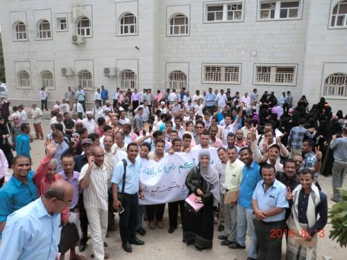 ممثلو كليات جامعة عدن يدعوا اللجنة التنسيقية العليا للمعينين  أكاديمياً الى اجتماع استثنائي*