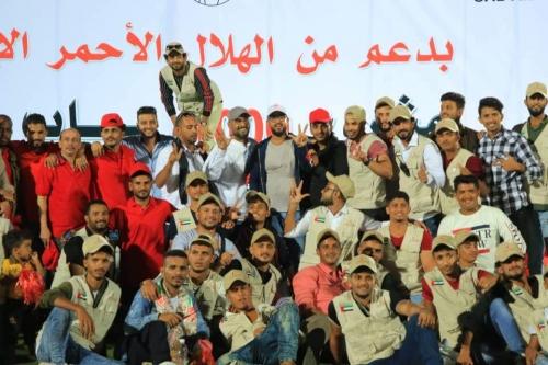 يوم الإمارات الوطني في عدن تنموي  يتكلل بتدشين مشروع ألف باب رزق