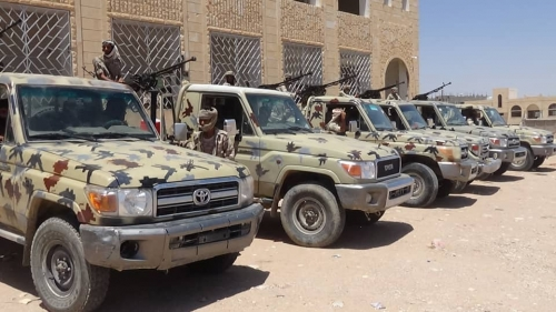 القوات المشتركة  تقبض على قتلة أحد المواطنين في عتق العاصمة