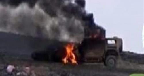 عاجل /تفاصيل /القوات الجنوبية تدمر أطقم عسكرية لقوات الإصلاح في أحور