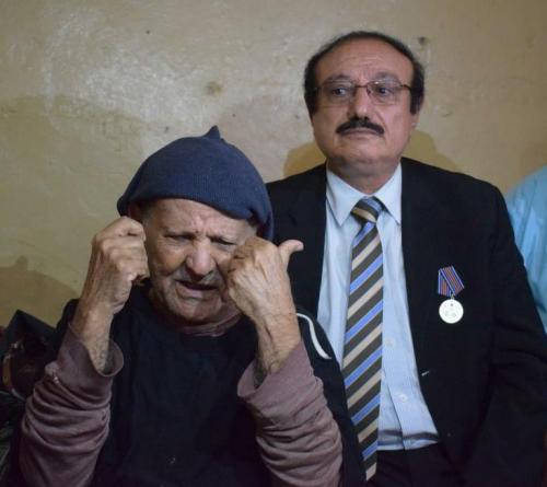 السفير عسكر و السقطري يزوران المناضل عبدالرحمن الحالمي