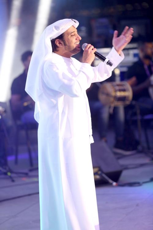 صوت الإمارات عيضة المنهالي يشعل اجواء أبو ظبي  النجم عيضة المنهالي يشعل الجمهوري العربي في أبو ظبي