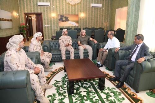 """""""الجابري"""" ينفي دمج قوات """"النخبة الحضرمية"""" بوحدات وزارة الداخلية اليمنية"""