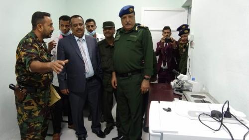 مصورنائب وزير الداخلية: لا صحة لوجود سجون سرية في عدن أوحضرموت