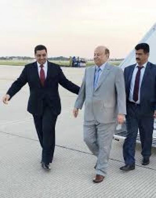 صحيفة امريكية تكشف عن تقديم السفير اليمني بامريكا طلبا للبيت الابيض ليكون بديلا عن هادي