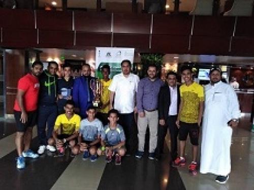 وزير الشباب والرياضة يكرم منتخب التنس الارضي المشارك في بطولة آسيا