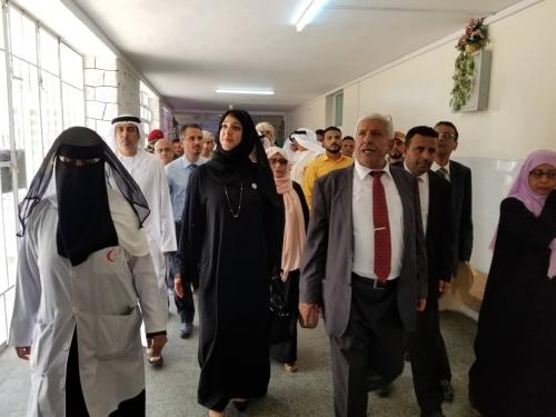 انجازات اماراتية ملحوظة وآراء وتساؤلات المواطنين حول زيارة وزيرة الدولة الإماراتية ريم الهاشمي للعاصمة عدن