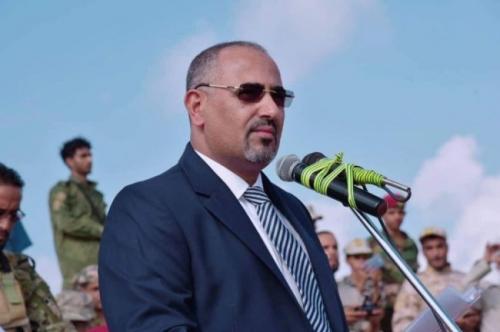 الرئيس الزبيدي : قواتنا مستعدة للمشاركة في عملية تحرير صنعاء ( نص الكلمة )