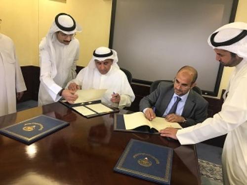 وزير التخطيط يوقع مع الصندوق الكويتي على محضر إستئناف تنفيذ مشاريعه في اليمن