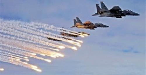 تحليق مكثف لمقاتلات التحالف في أجواء صنعاء